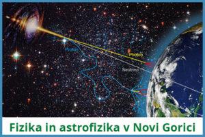 Fizika in astrofizika v Novi Gorici_logo