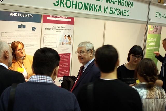 Univerza v Novi Gorici udeležila mednarodne razstave - Університет Марібора