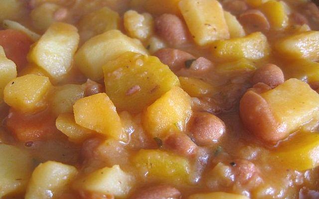 Koleraba, krompir in fižol po gebarsko